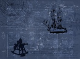 STAR MAP - Discovery makes us understand Fototapete, Poster